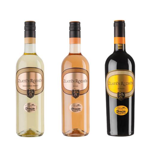 пакет 3 вина златен рожен